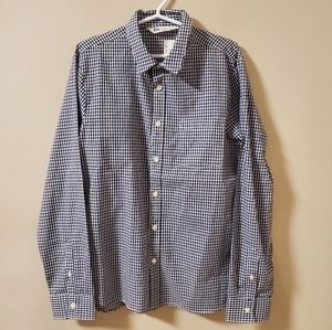 H&M | Plaid button down shirt